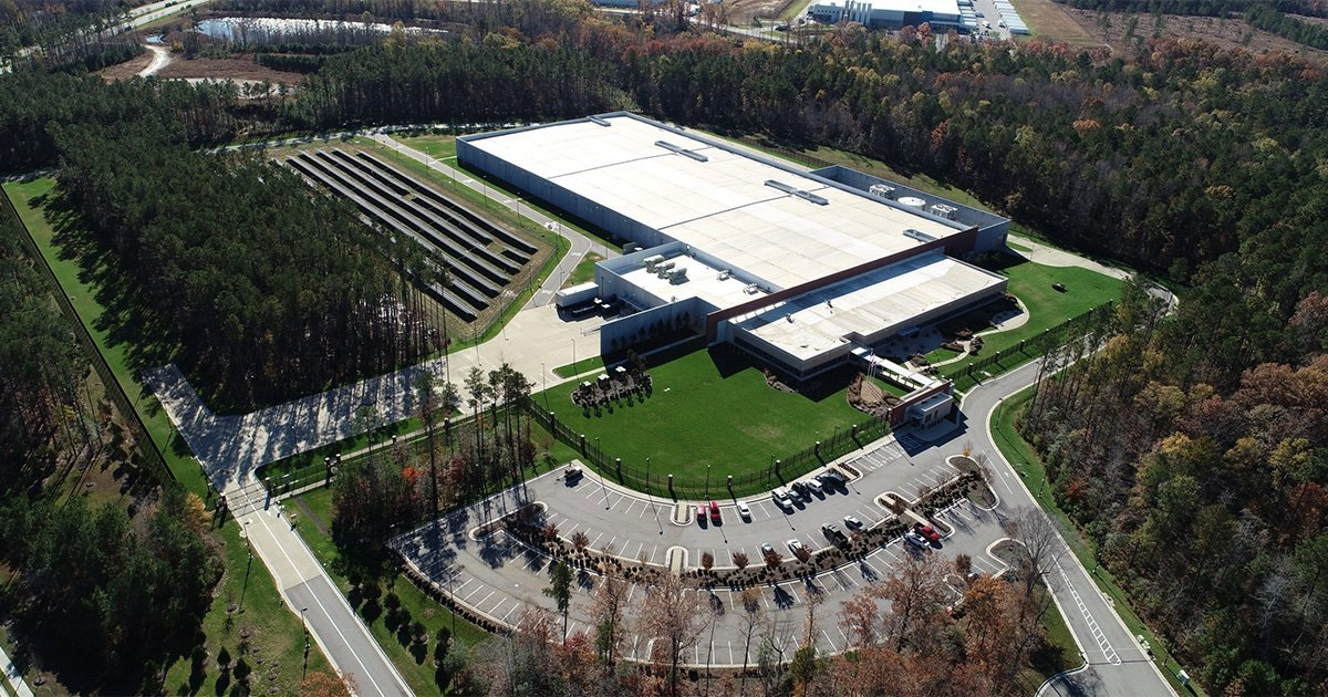 Wholesale Data center and wholesale colocation facility in Richmond Virginia