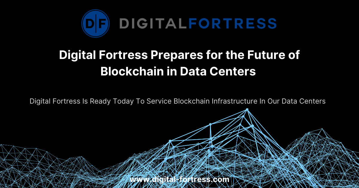 blockchain in data centers - cryptocurrency data center infrastructure